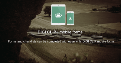 Logistics checklists and inspections by DIGI CLIP mobile forms