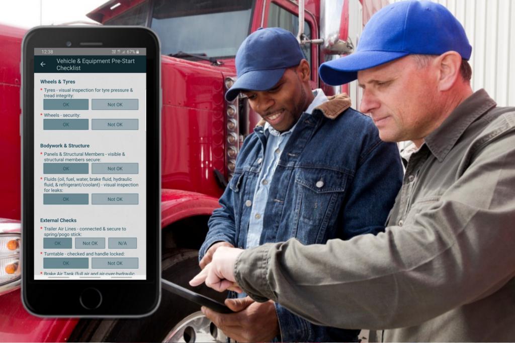 Truck Pre-Start Checklist App