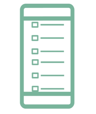 Checklist app for iPhone